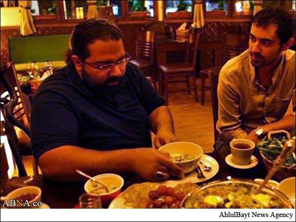 رضا صادقی و شهاب حسینی