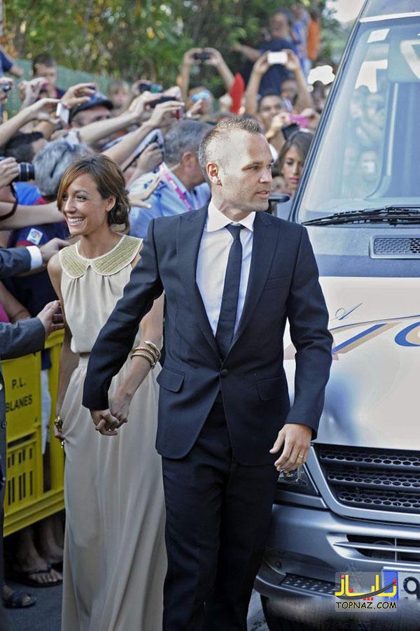 عکس های عروسی ژاوی هرناندز بازیکن بارسلونا و تیم اسپانیا