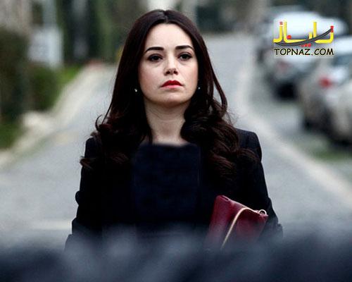 عکس نارین در سریال مرحمت