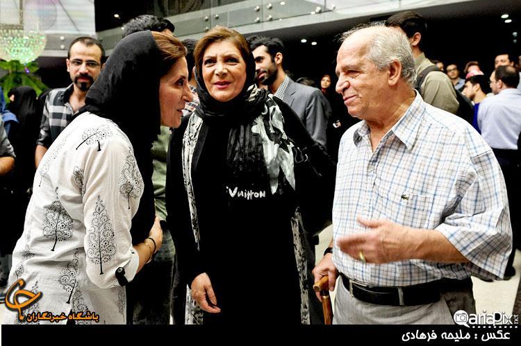 محسن قاضی مرادی و همسرش مهوش وقاری – فاطمه معتمد آریا