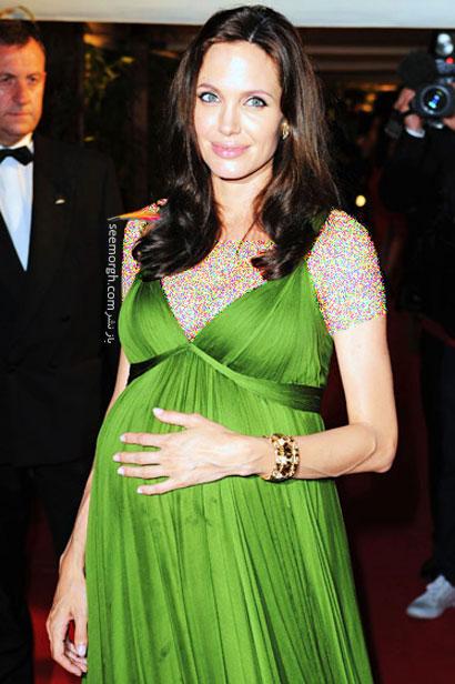 عکس از مادران هالیوودی با لباس بارداری