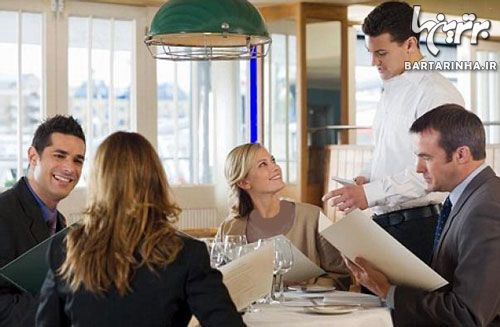 آداب رستوران رفتن با نامزد