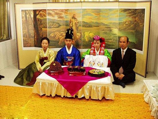 رسم شب عروسی در کره جنوبی