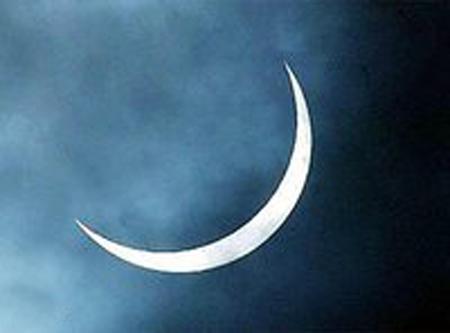 هلال ماه عید فطر
