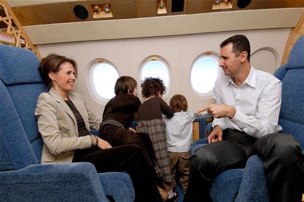 بشار اسد و خانواده اش