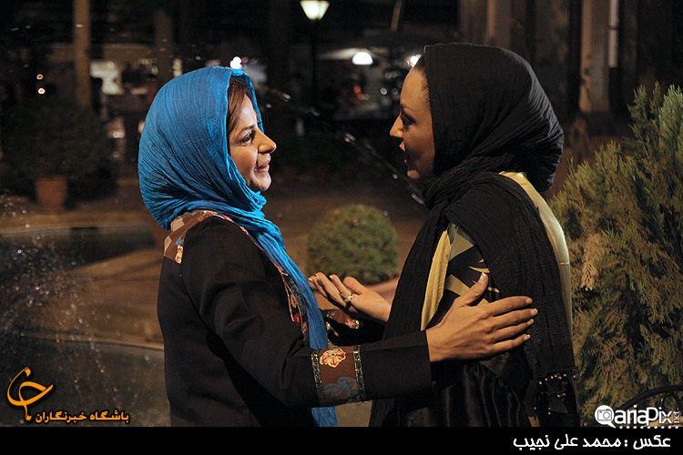 سیما تیرانداز و شقایق فراهانی / مرداد ۹۲