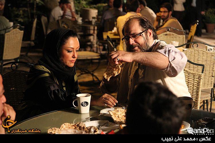 شقایق فراهانی و سید مهرداد ضیایی / عکس / نشست خبری سریال مادرانه