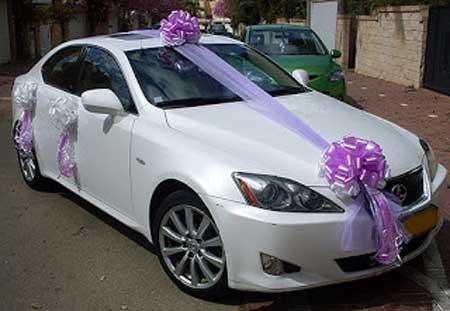 مدل های جذاب تزئین ماشین عروس