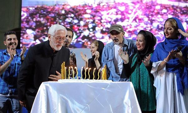 عکس از هنرمندان معروف کشور در جشن نفس