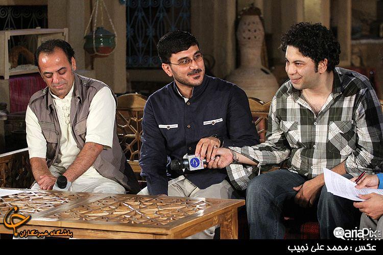کارگردان( جواد افشار ) و تهیه کننده سریال مادرانه