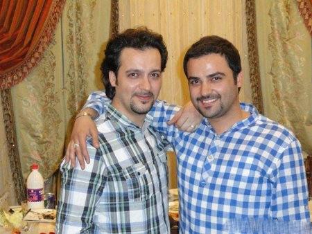 مهدی سلوکی در کنار برادرش