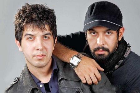 کامران تفتی در کنار برادرش
