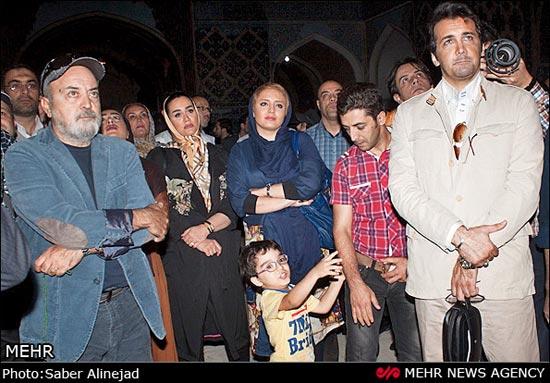 عکس بازیگران در تبریز