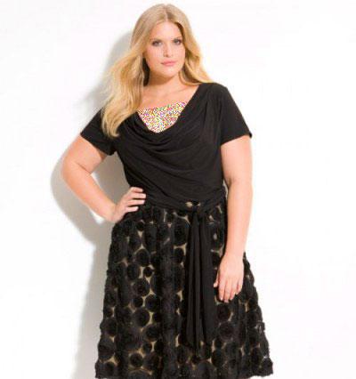 مدلهای لمه بلوز مدل لباس شب برای خانمهای چاق