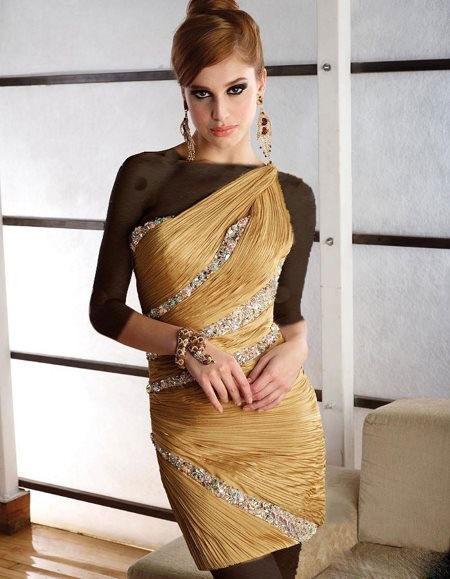عکس مدل لباس شیک مجلسی 2013