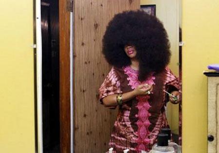 دردسرهای موی فر , مدل مو ,  رکورد کتاب گینس