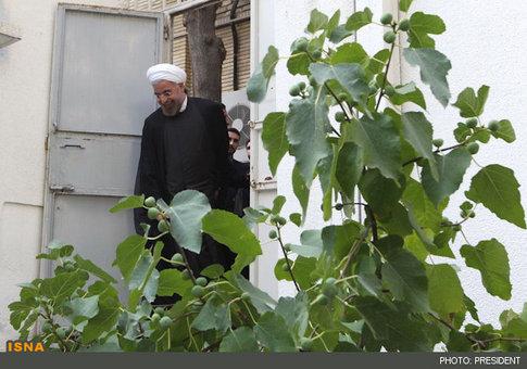 عکسهای حسن روحانی در ساختمان ریاست جمهوری