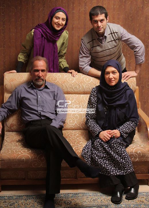 عکسهای بازیگران در پشت صحنه سریال ستاره حیات