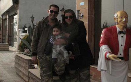 عکسی از همسر و فرزند دوم شهاب حسینی