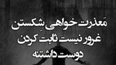 Photo of متن و جملات معذرت خواهی جدید + جمله کوتاه منت کشی