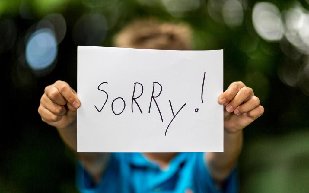 متن و جملات معذرت خواهی جدید