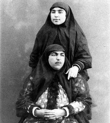 عکس از زنان قاجار