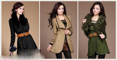 مدل مانتو کره ای ۲۰۱۴, مانتو خزدار زنان کره ای