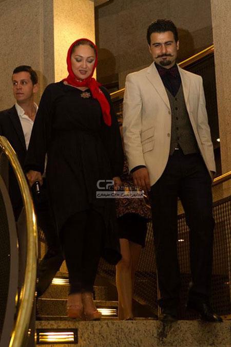 عکس نیکی کریمی به همراه همسرش