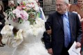عروس و داماد عجیب! +عکس