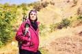 ویشکا آسایش به قله دماوند صعود کرد+عکس