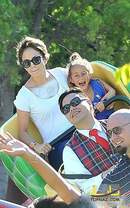 عکسهای جدید جنیفر لوپز و فرزندانش در حال تفریح