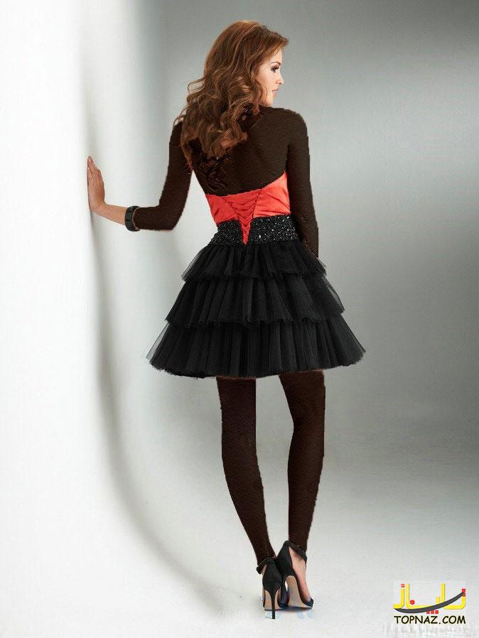 لباس جذاب مجلسی دخترانه
