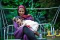 عکسهای خانم روشنک عجمیان و دخترش