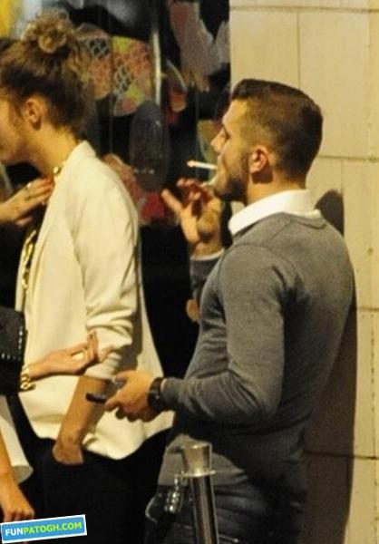10 فوتبالیست معروفی که سیگار می کشند! +عکس