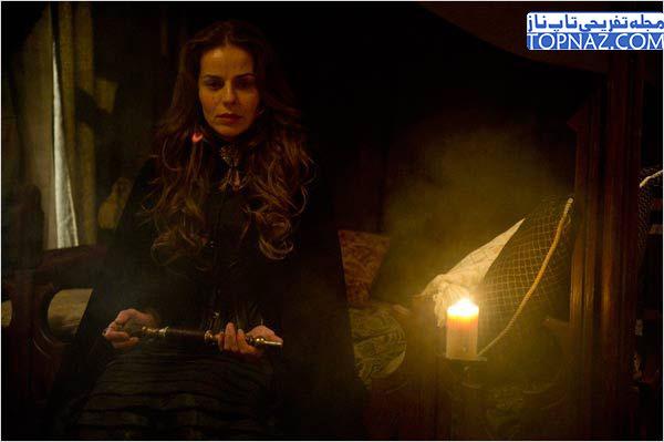 عکس های لوکرسیا در سریال عقاب سرخ