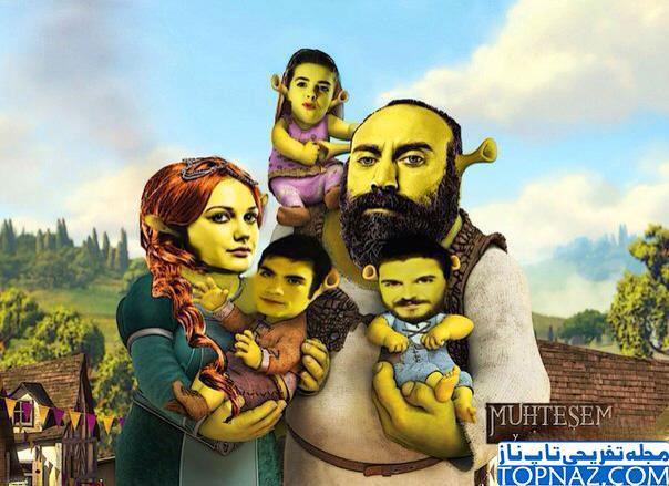 عکس جنجالی سریال حریم سلطان لو رفت!