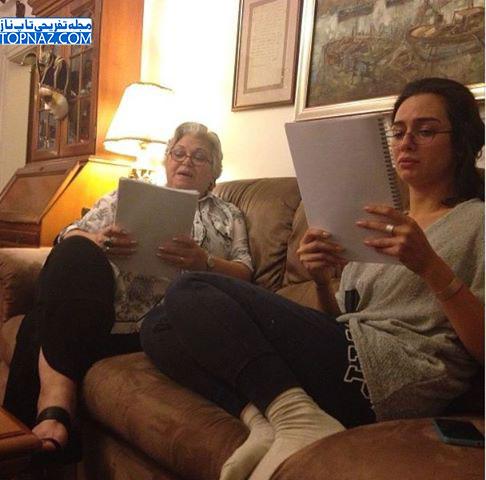 بیرجه آکالای و مادربزرگش