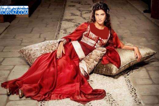 عکس های مهرونیسا در سریال حریم سلطان (رومیسا)
