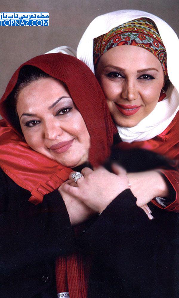 عکس بهنوش بختیاری در کنار خواهرش