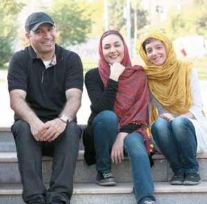 هانیه توسلی، نازنین بیاتی و حمید فرخنژاد در سعادتآباد + تصاویر