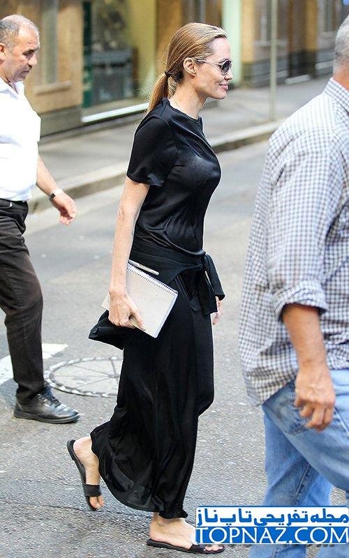 Photos of Angelina Jolie with Black Brigade