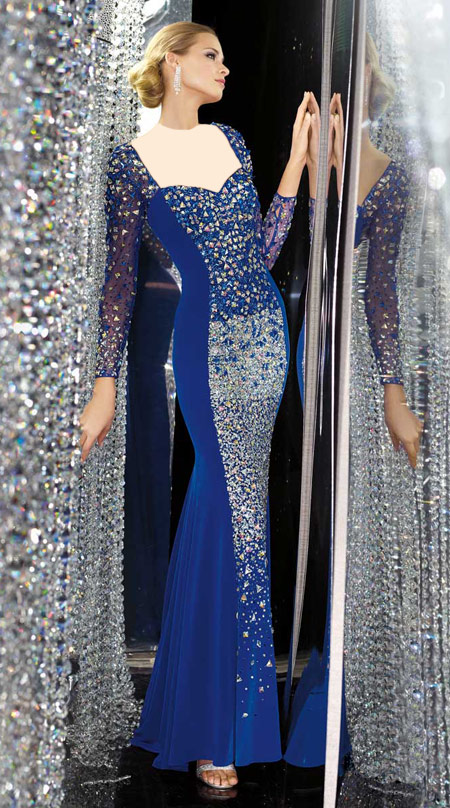 لباس شب 2014