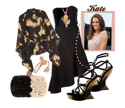 مدل لباس شب به سبک کیت میدلتون Kate Middleton