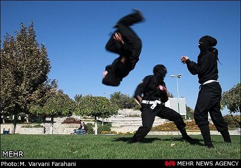دختران نینجای ایرانی