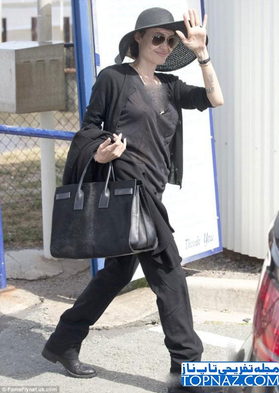 جدیدترین عکس های آنجلینا جولی در استرالیا