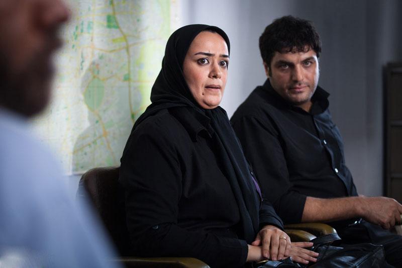 الهام چرخنده و سام درخشانی در سریال آوای باران