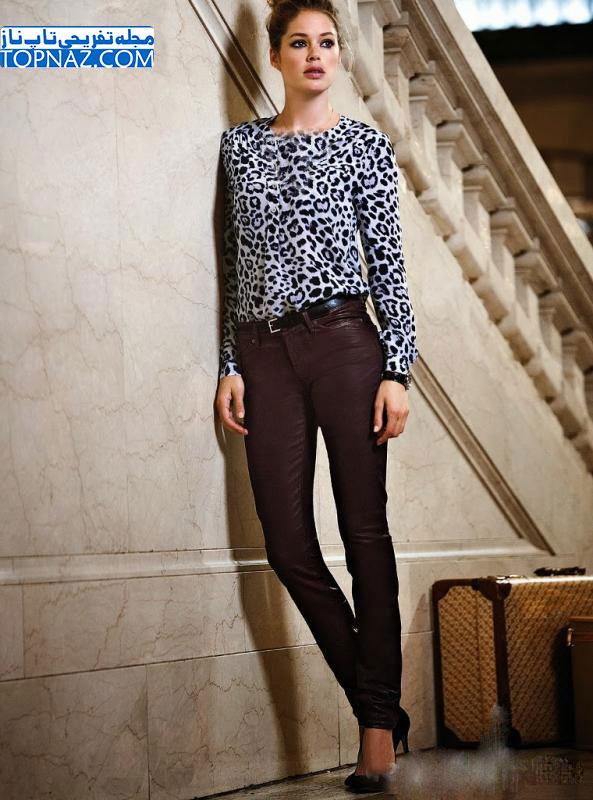عکس های دیدنی دوتزن کروس مدل معروف ویکتوریا سکرت