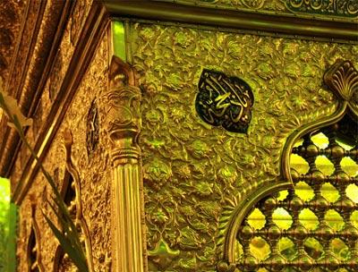 شاهچراغ,آرامگاه شاهچراغ,آرامگاه احمد بن موسی کاظم