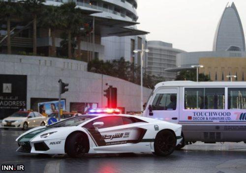 خودروی پلیس دبی