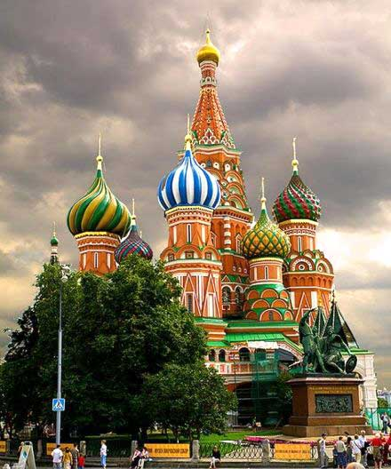 آشنایی با کاخ کرملین در روسیه